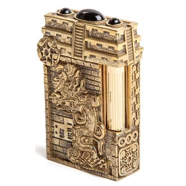 Зажигалка S.T.Dupon коллекции Календарь Майя Престиж 16859