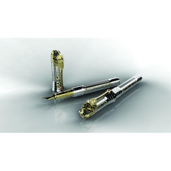 Ручка-роллер S.T.Dupon коллекции White Knight Prestige 242030