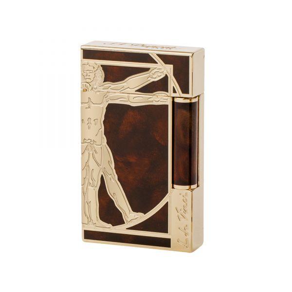 Зажигалка S.T.Dupon коллекции VITRUVIAN MAN PRESTIGE 16163