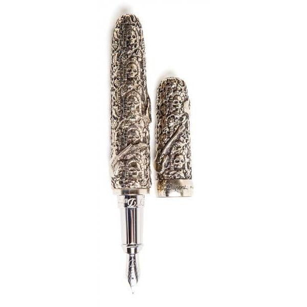 Перьевая ручка S.T.Dupont коллекции HARD ROCK 481090M