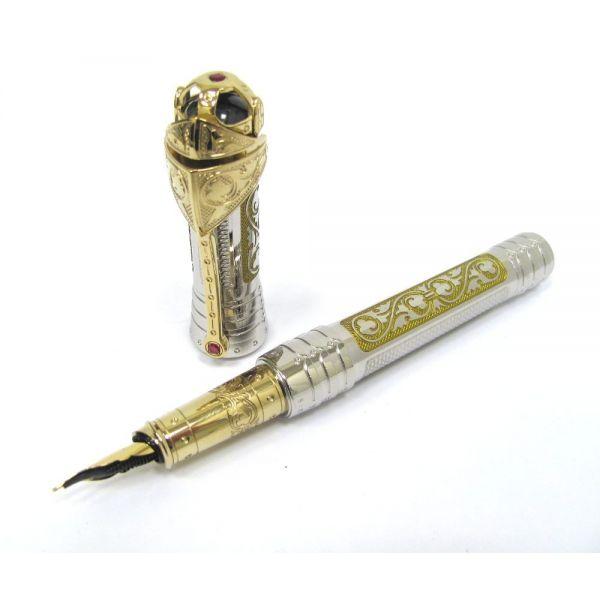 Перьевая ручка S.T.Dupon коллекции WHITE KNIGHT PRESTIGE 241030